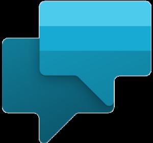 Logotypen för Microsoft Power Virtual Agents